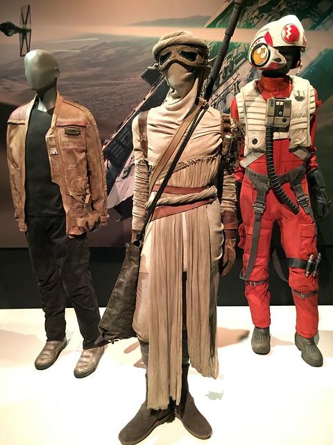 Rey, Finn, Poe