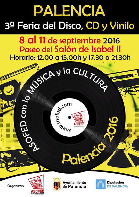 3ª Feria del Disco de Palencia.