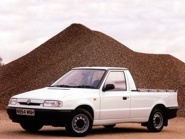 Пикап Skoda Felicia Pickup. 1995 - 2001 годы производства