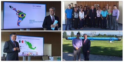Visitas de trabajo a Vevey y Ginebra