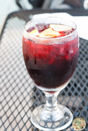 Red Raspberry Sangria