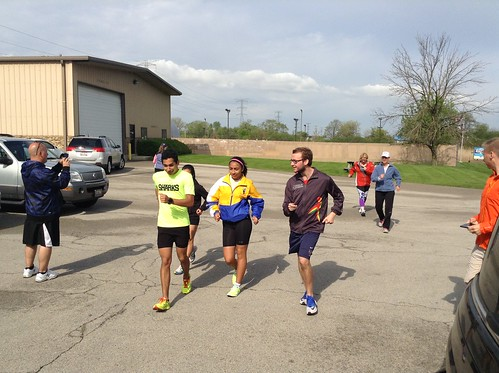Saucony Demo and Race Walking Clinic