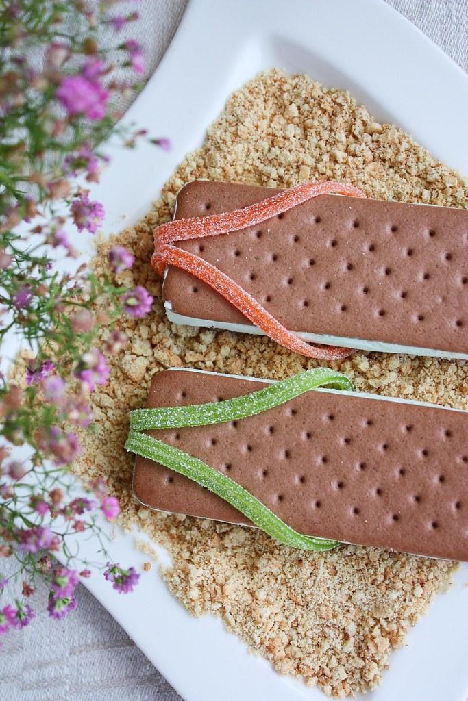 jäätelösandaalit Puffet-jäätelöstä