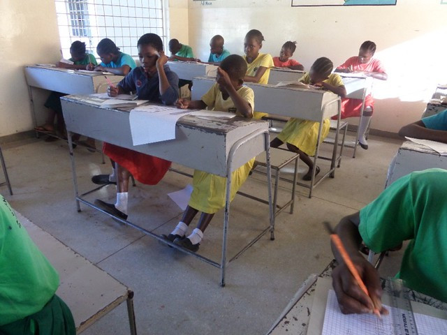 Examination time for SBM School Pupils