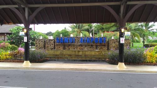 今日のサムイ島 6月21日 サムイ空港 両替