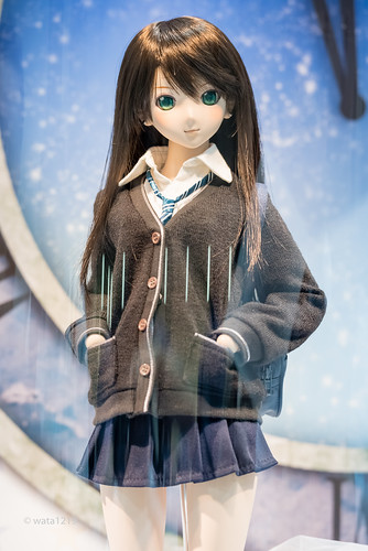 [DD] Rin Shibuya:School uniform (1)