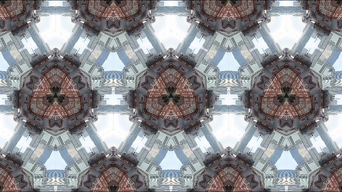 kaleidoscope Tokyo station Xperia X Performance Creative Effect