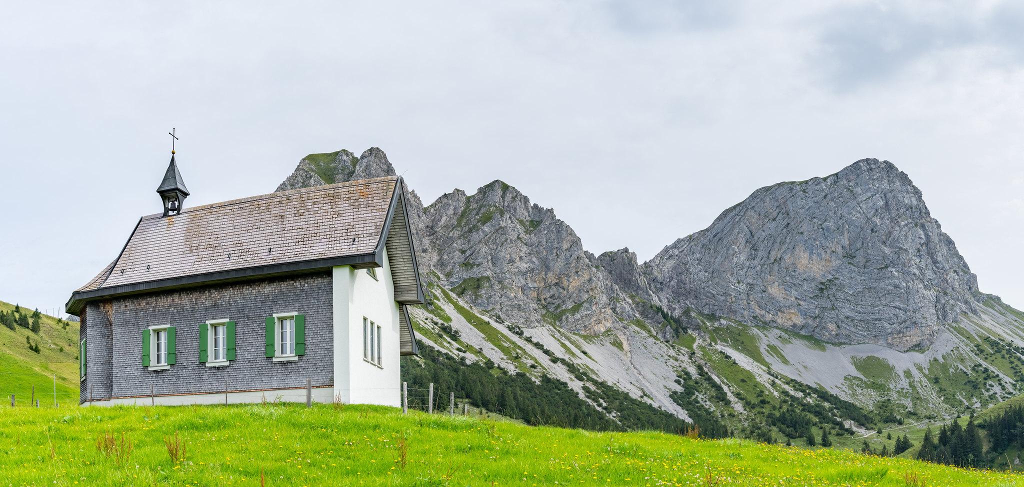 Alpkapelle auf der Jänzimatt