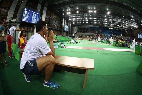 Isabel Brand, ronda esgrima Rio 2016