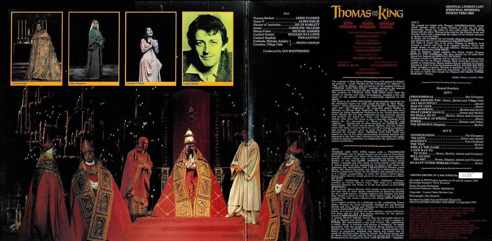 John Williams - Thomas and The King