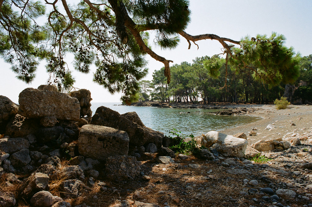 Phaselis, North harbour