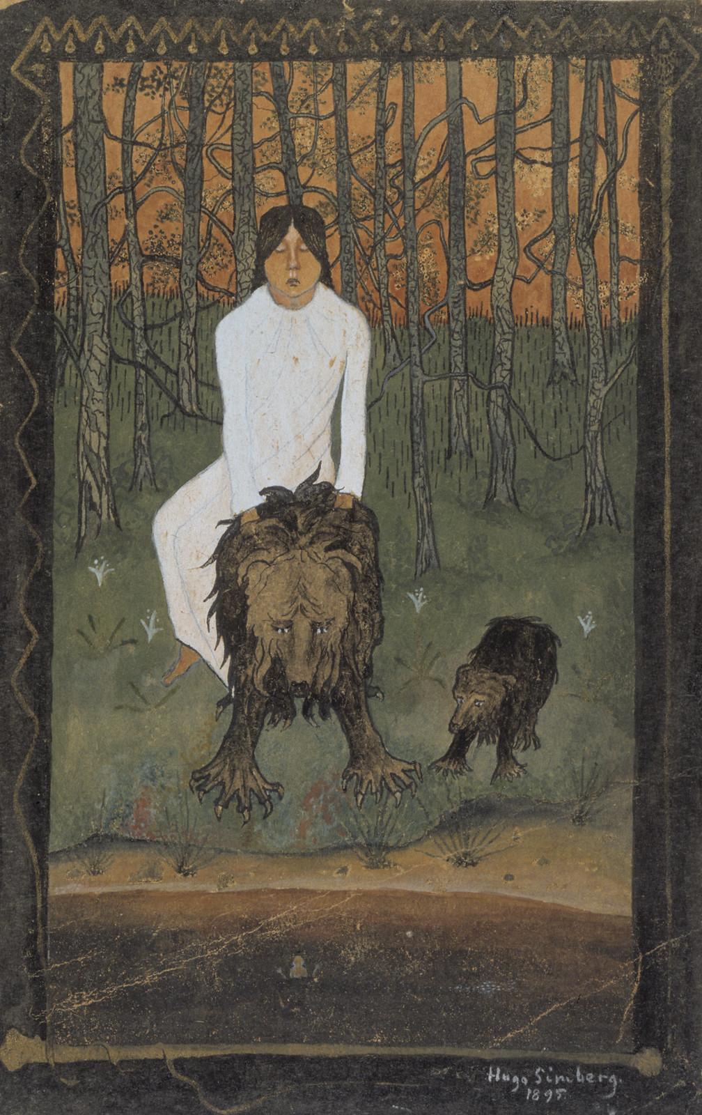 Hugo Simberg - Fairy Tale 1, 1895