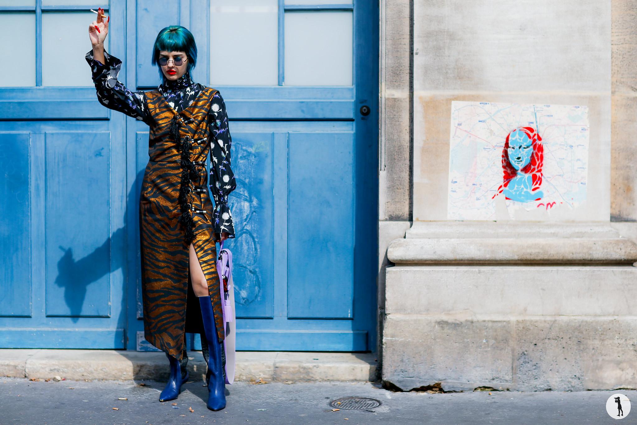Sita Abellan - Paris Fashion Week Menswear SS17 (1)