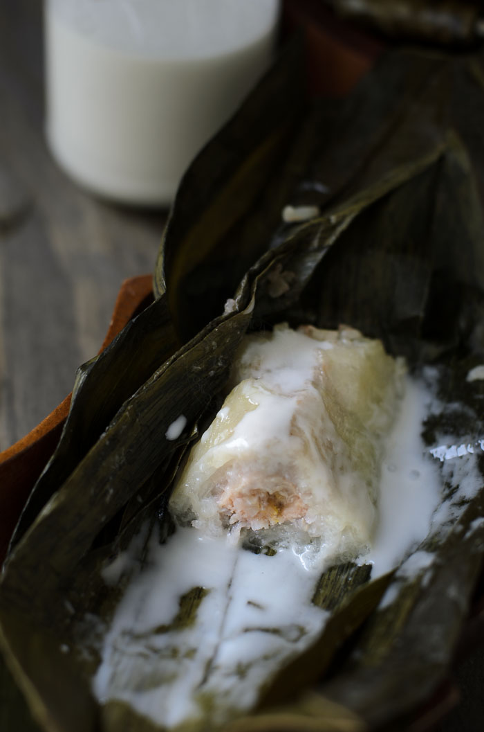Sticky Rice with Banana _ Pulut Dakap