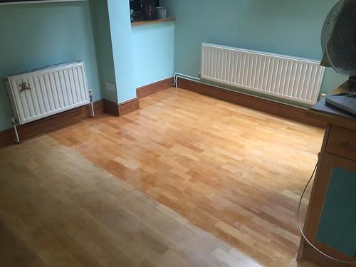Oiling Wooden Floor Q Singletrack Magazine