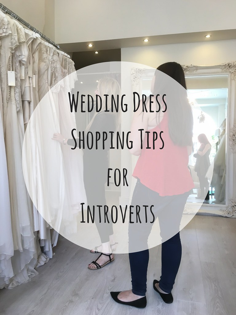 Wedding Dress Shopping Tips for Introverts