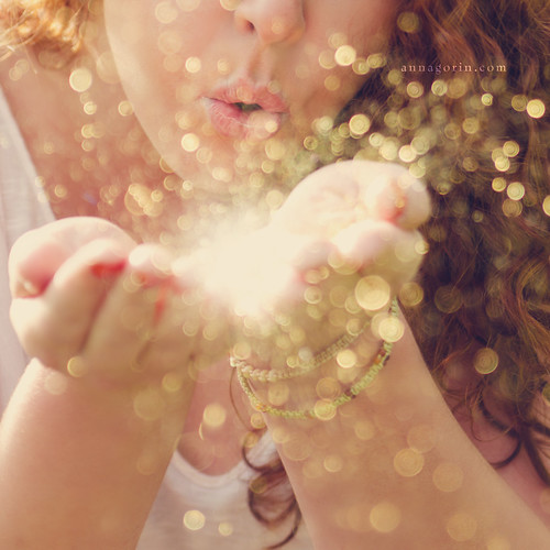 Glitter in the air | by Anna Gorin