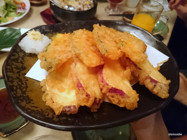Japan Made Pumpkin & Sweet Potato Tempura