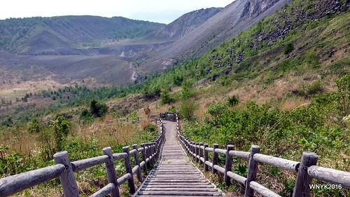 Many Steps of Mt. Usu