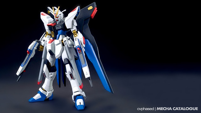 HGCE Strike Freedom Gundam - Colored Prototype Shots