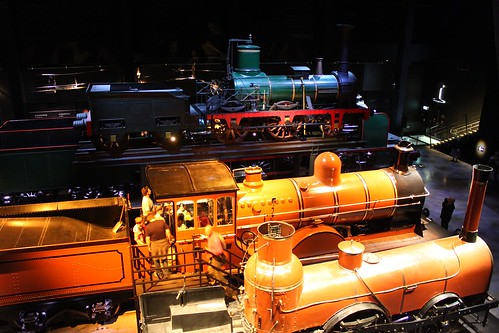 old steam locomotives