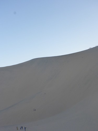 We're all tiny against the dune