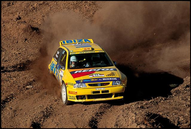 SEAT Ibiza II на ралли