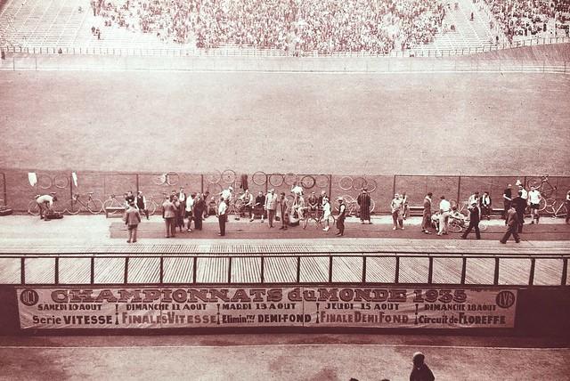 World Championships 1935 Heysel Stadium Brussels Belgium