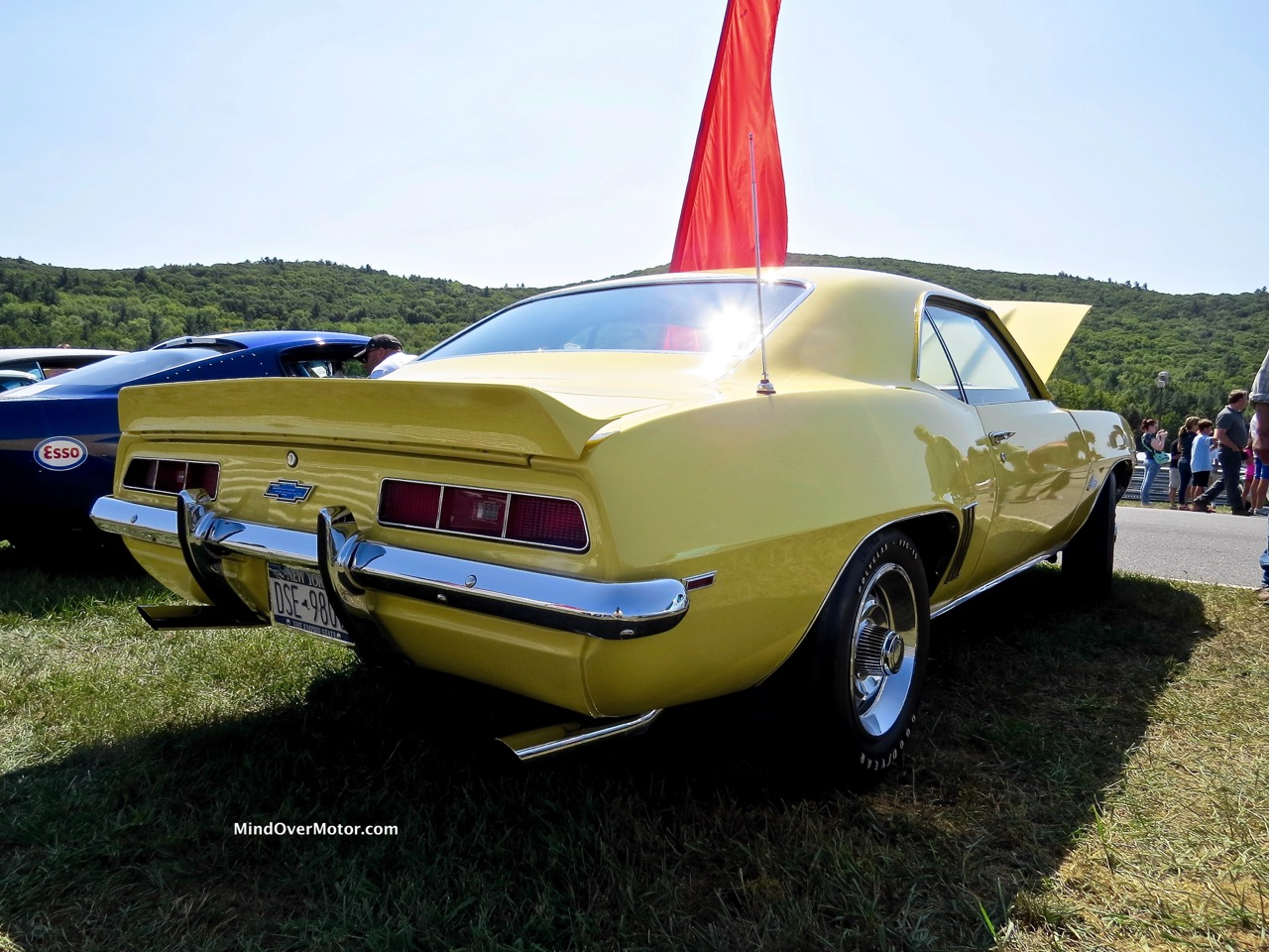 1969 COPO Camaro Rear 2