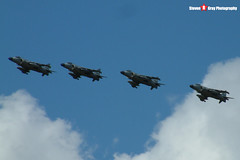 ZH796 & ZH798 & ZH804 & ZH813 - Royal Navy - British Aerospace Sea Harrier FA2 - Fairford RIAT 2005 - Steven Gray - DSCF2788
