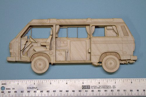 Laser cut VW Vanagon | by Greyerlynx