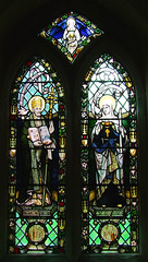 St Augustine and St Genevieve by AK Nicholson