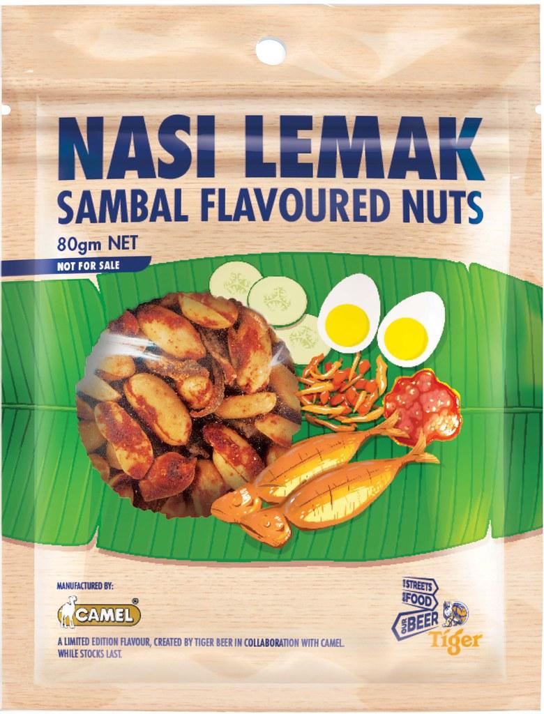 Tiger X Camel Nasi Lemak Sambal Flavoured Nuts