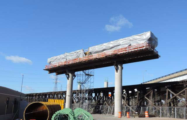 Goethals Bridge Replacement Project - Progress - January 2016