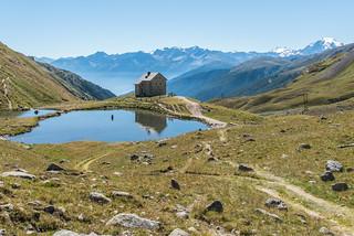 Alte Pforzheimer Hütte, Ortler, Cevedale, Zufallspitze