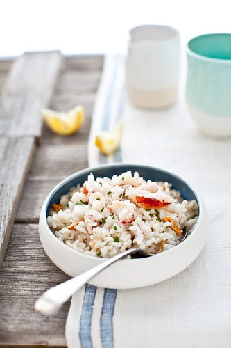 Chanterelles & Lobster Risotto | by tartelette