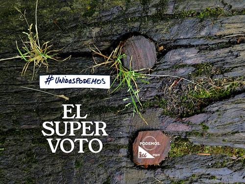 El SuperVoto. Campaña gráfica #26J