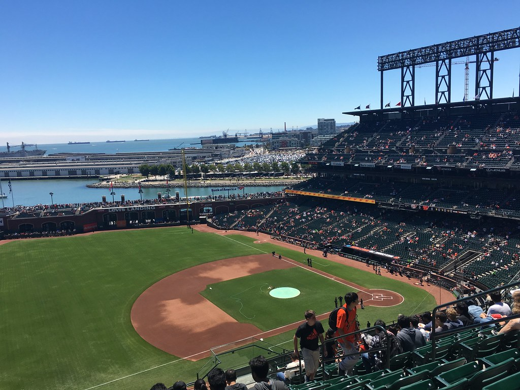 SF Giant主场,AT&T Park