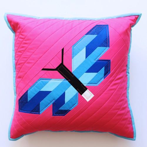 Frances Firefly cushion