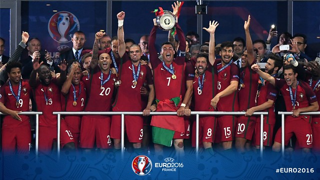 Portugal consigue la Euro 2016 France