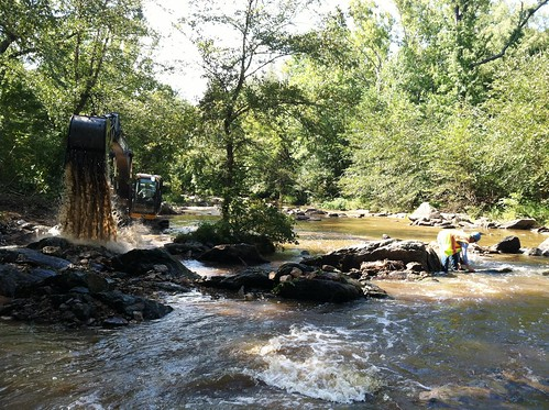 Little River (NC) dam removal | by AmericanRivers.org