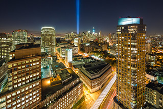 2012 Tribute in Light 9/11 Memorial | by RBudhu