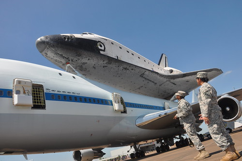 Space Shuttle Endeavor | by The U.S. Army