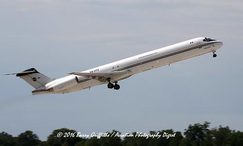 McDonnell-Douglas MD-82 (SF) s/n 49342 (1986) Aeronaves TSM (Cargo) XA-UTX