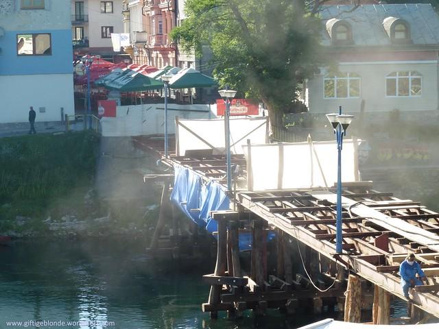 Brücke wird renoviert