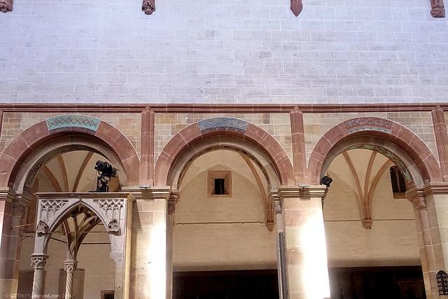 Klosterkirche Seitenschiff