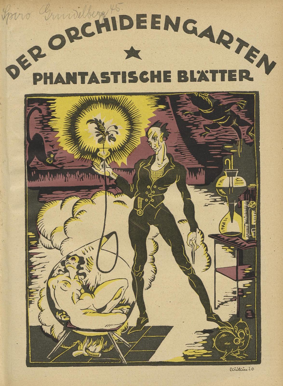 Der Orchideengarten - 1920 (Cover 17)