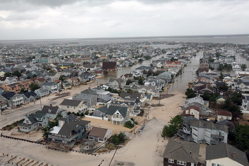 Aerial photos of New Jersey coastline in the aftermath of Hurricane Sandy [Image 12 of 19] | by DVIDSHUB