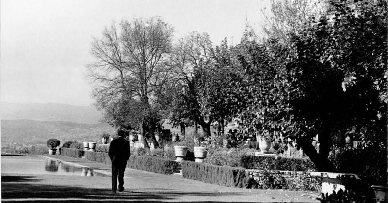 Кристиан Диор на вилле La Colle Noire во Франции