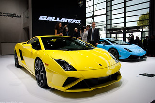Lamborghini Gallardo LP560-4  | Paris Car Show 2012 | by Ivan Klindić